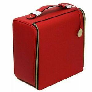 Estee Lauder Red Cosmetic Bag